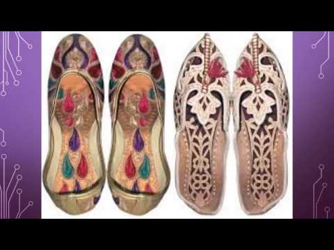 Traditional Rajasthan Footwear Designs