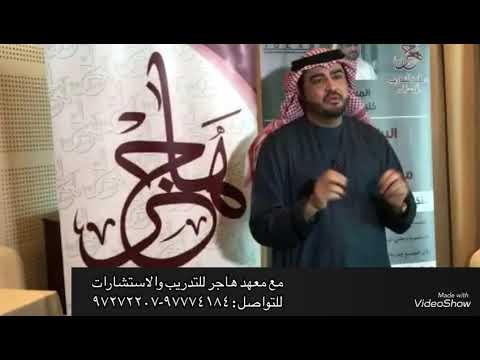 ادارة الغضب للمستشار خليفة المحرزي 20-21/ 6 /2019