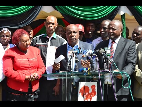 Gideon Moi to open alliance talks with Jubilee, NASA