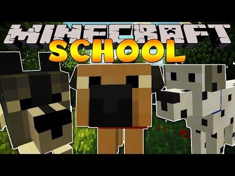 pet - Minecraft School - Dog Mod Minecraft School Playlist : http://bit.ly/MinecraftSchool {Subscribe : http://bit.ly/LittleLizardGaming } We're back in school wit...