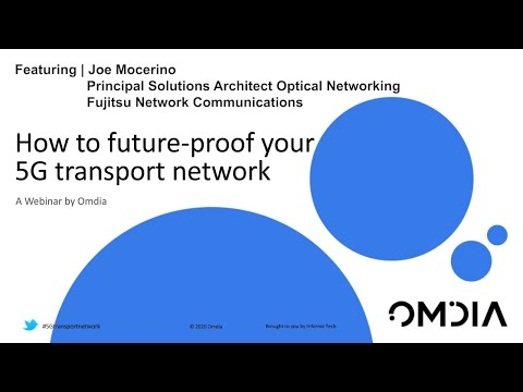 Watch 'How to future-proof your 5G transport network '