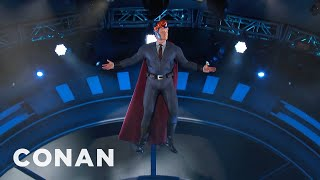 Video Conan's Super #ConanCon Entrance  - CONAN on TBS MP3, 3GP, MP4, WEBM, AVI, FLV Juli 2018