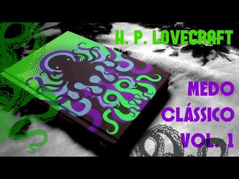 UNBOXING de H. P. Lovecraft: Medo Clássico (Cosmic Edition)