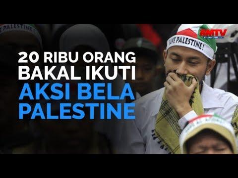 20 Ribu Orang Bakal Ikuti Aksi Bela Palestina