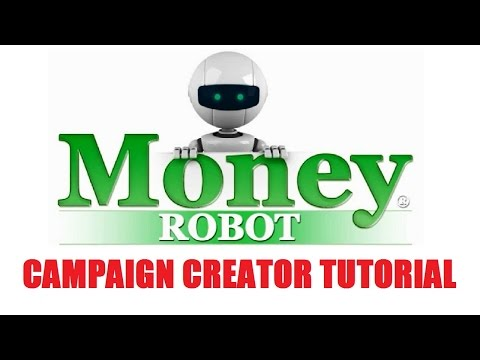 Money Robot SEO Campaign Creator Video Tutorial