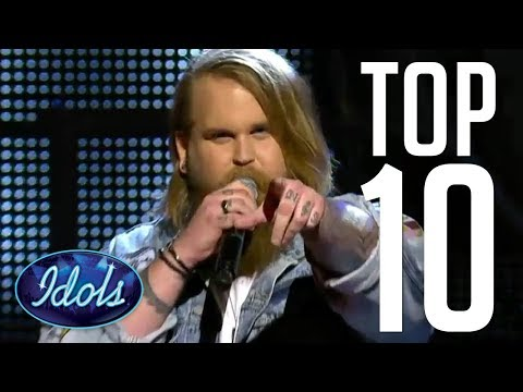 10 BEST COVERS EVER Chris Kläfford Winner Of Idols 2017 | Idols Global