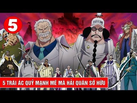 Top 5 trái ác quỷ mạnh mẽ mà hải quân sở hữu trong One Piece - Thời lượng: 7:51.