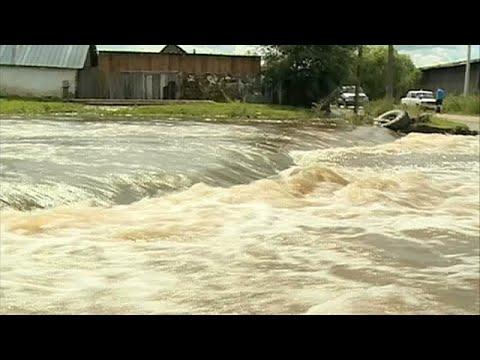 Russland: Extremes Wetter - Fluten, Flammen und eine  ...