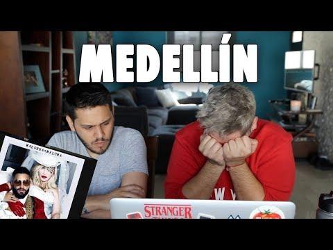 Reaccionando a MEDELLIN de MADONNA con MALUMA!!   gwabir