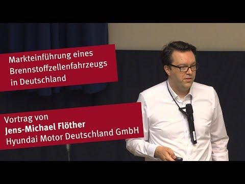 Vortrag: Markteinführung eines Brennstoffzellenfahrzeugs in Deutschland
