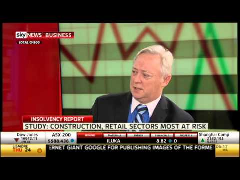 The Jones Partners - Insolvency Report 2014 on Sky Business News