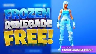 How To Get *FROZEN* Renegade Raider FOR FREE! [HxD]