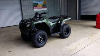 9. 2016 Honda FourTrax Rancher 420 EPS ATV Walk-Around Video | TRX420FM2G