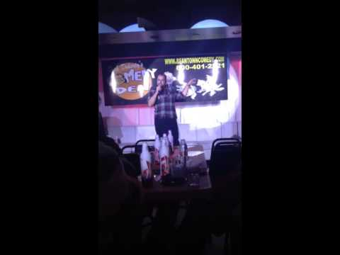 Jesse Miles stand up at Dick Doherty's