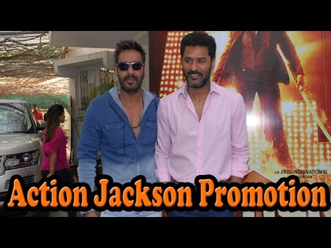 Video Promotion Action Jackson On Set's OF CID With Ajay Devgn download in MP3, 3GP, MP4, WEBM, AVI, FLV January 2017