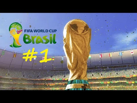 Fifa 2014 World Cup Game - Part 1 - A Dribbler