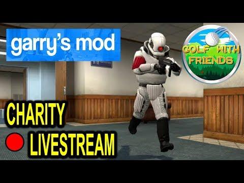 Charity Live Stream Garrys Mod Prop Hunt!!