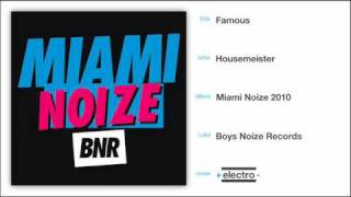 Download Lagu Housemeister-Famous Mp3