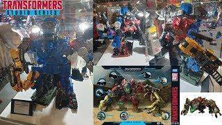 Transformers Studio Series DEVASTATOR COMPLETED Prototype Revealed! MCM London Comic Con Hasbro