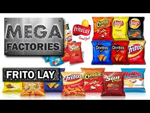 MEGAFACTORIES:FRITO LAY By NatGeo  🏭 हिंदी