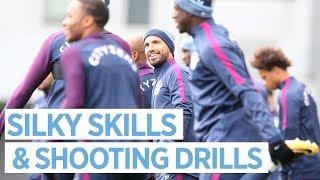 Video SILKY SKILLS & SHOOTING DRILLS   Man City Training MP3, 3GP, MP4, WEBM, AVI, FLV November 2017