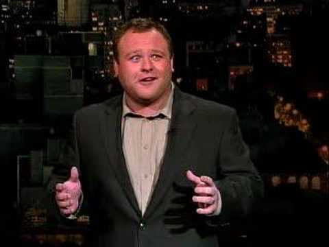 Frank Caliendo - Letterman - Impressionists Week