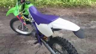 10. Kawasaki KLX 300R from KLX 250R