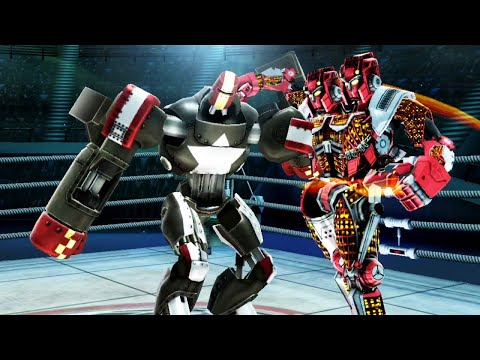REAL STEEL WRB Twin Cities VS Fat Boy & Bluebot & Dreadlord & Blockbuster