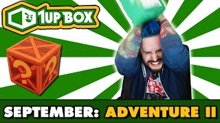 1UP Box Opening | ADVENTURE II | September 2016 Theme w/Ace Trainer Liam by Ace Trainer Liam