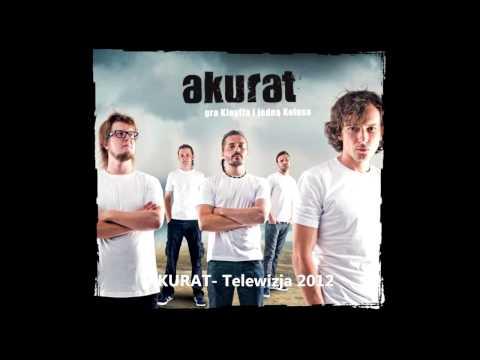 Tekst piosenki Akurat - Telewizja 2012 po polsku