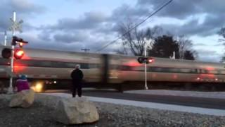 South Deerfield (MA) United States  city photos : Amtrak's Vermonter Train #56 Northbound at South Deerfield, MA