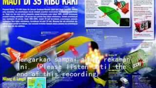 Download Video ASLI - Rekaman Black Box Adam Air Flight 574 MP3 3GP MP4