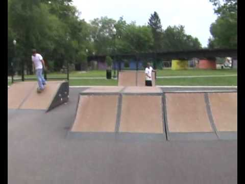 skateboarding at portstown
