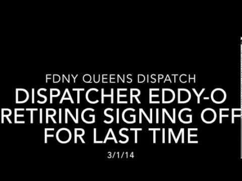 FDNY Dispatcher signs off for the last time after 32 years, entire borough responds