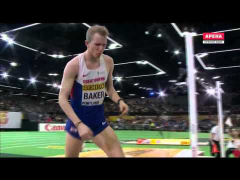 Chris Baker 2.29 ( World indoor championship. Men's high jump final. Portland 19.03.2016 )