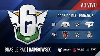 [BR6 2019] INTZ vs PAIN / BD vs RED DEVILS - Rodada 8 - Rainbow Six Siege
