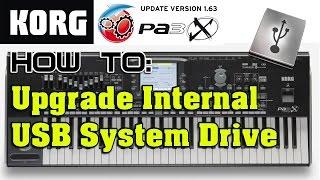 Download Lagu KORG Pa3X Keyboard Internal System Drive Upgrade Mp3