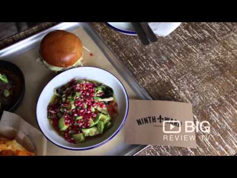 Ninth Ward Bar and Restaurant in Clerkenwell London serving Burger and Cocktail Drinks