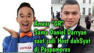 Video Lihat tingkah Anwar saat ketemu Daniel Darryan MP3, 3GP, MP4, WEBM, AVI, FLV Februari 2018