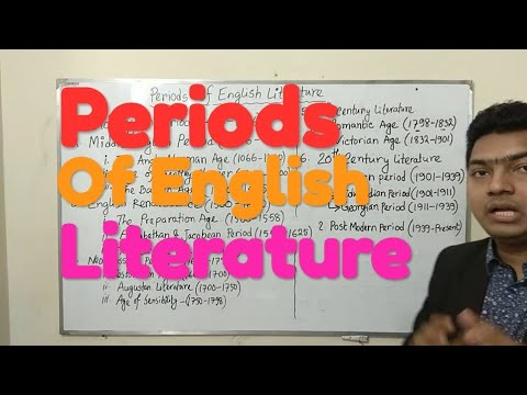English Literary Periods In Bangla || Bd24 Online School