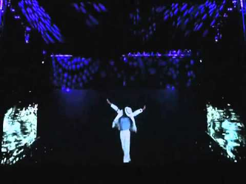 hologram performance - This is the holographic system used in Celine's new show at Caesar's Palace, Tupac, Janet Jackson and soon Elvis. The sysgtem allows live and virtual charaxc...