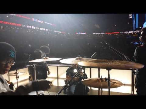 Unlocking The Truth half time performance at the Barclay Center
