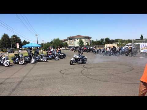 Some trick riding @ Capital City Brewfest at Salem Harley Davidson