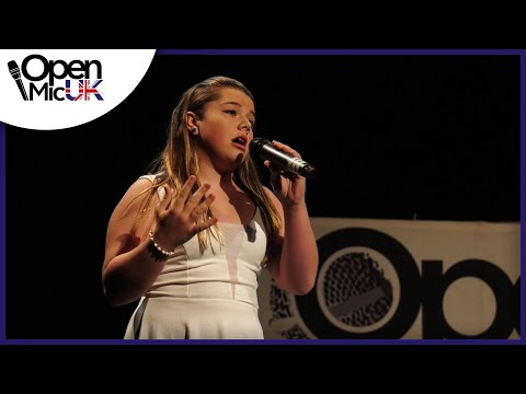 I WILL ALWAYS LOVE YOU – WHITNEY HOUSTON performed by ELISHA LANG at Open Mic UK singing contest