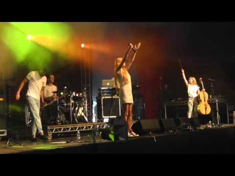 Clean Bandit--Camp Bestival 2013-- Live Most of Set. A & E, Dust Clears,
