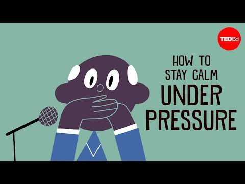 How to stay calm under pressure - Noa Kageyama and Pen-Pen Chen (видео)