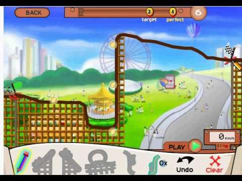 MostFunGames.com Roller Coaster Creater