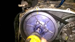 6. Teryx clutch installation & removal
