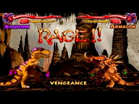 Primal rage- Gamecube- Full game- Sauron