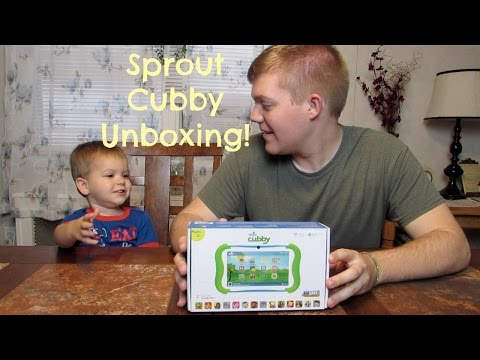 SPROUT CUBBY TABLET UNBOXING AND FIRST IMPRESSION!